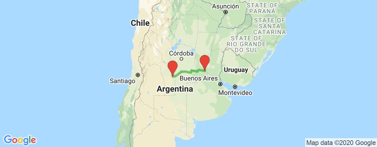 Comprar pasajes saliendo de Villa Mercedes a Rosario. Pasajes baratos a Rosario en bus precio y horario desde Villa Mercedes, San Luis.