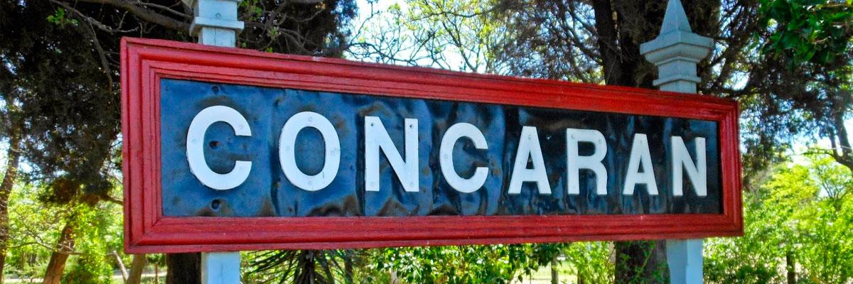 Pasajes baratos a Concarán en bus precio y horario desde Córdoba.