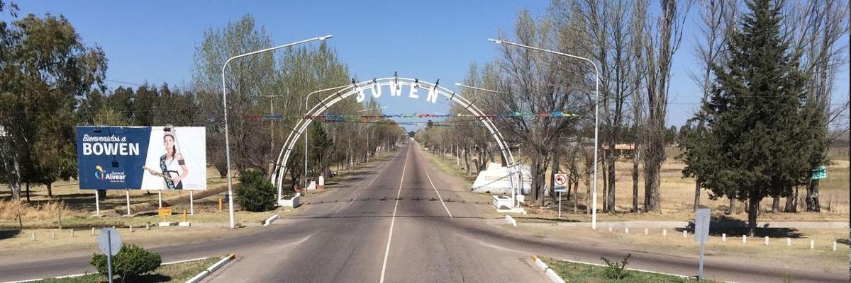 Pasajes baratos a Bowen en bus precio y horario desde Mendoza.